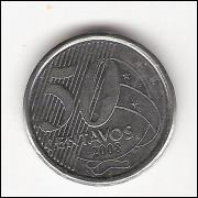 50 centavos/Real -2008- dupla batida  (535a) #22