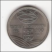 PORTUGAL 200 Escudos 1993 - c/n - FC  km 666