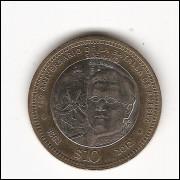 MEXICO 10 Pesos - Comemorativa 2012 - km 956