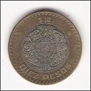 MÉXICO - 10 pesos - 2011 - km 616