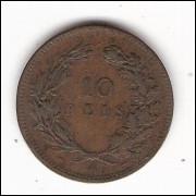 PORTUGAL 10 Reis 1892 - km 532