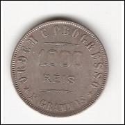 1000 Reis - 1910 - X grammas - mbc/sob (690)=2=