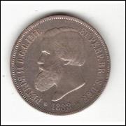 2000 Reis - 1888 - SOB/FC (658)