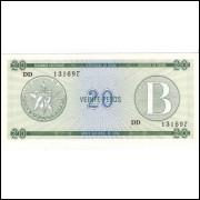 CUBA - 20 Pesos 1985 - FE - Pick FX9 =2