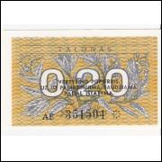 LITUANIA 0,20 Talonas 1991 - P.30 - FE =2
