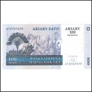 MADAGASCAR 100 Ariary 2004 - P.86B FE =2