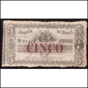 R-029 - 5000 Reis - 1860- UNIFACE - MBC(+)