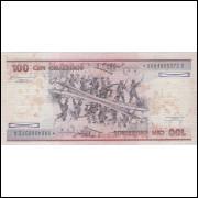 C-157a(*) - CEM CRUZEIROS - 1984 c/*0004 - FE (suja)