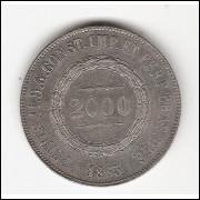 2000 Reis - 1863 - sob (622)=2