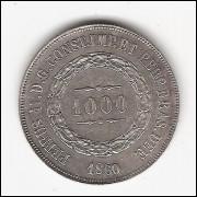 1000 reis - 1860 - FC (P608)