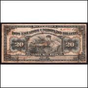 R-116 - 20.000 Reis - 1911 - 13a Estampa - MBC -