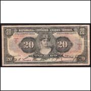 R-185 - 20.000 Reis - 1927- MBC -