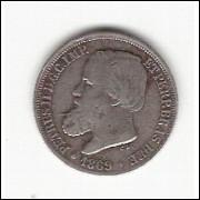 200 Reis - 1869 - C.L mbc (629)=2