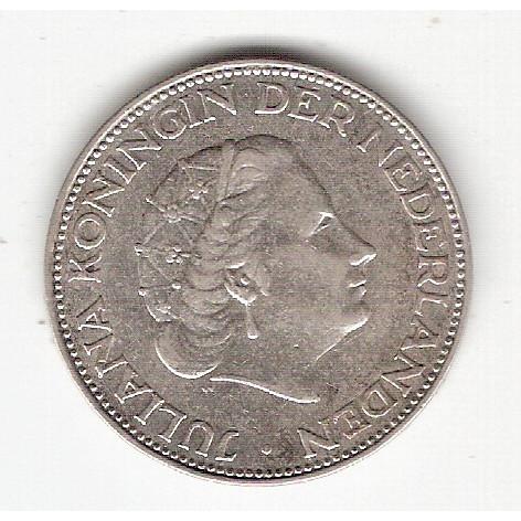 HOLANDA - 2 1/2 Gulden 1960 - km#185