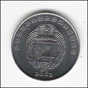 COREIA DO NORTE - 1/2 Chon 2002 - FC - km#184