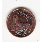 ILHA DO HOMEM (Isle of Man)- 1 Penny 2002 - Escassa KM#1036 FC