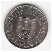 PORTUGAL - 100 Escudos 1990 - FC - KM#651