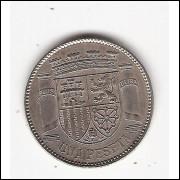 ESPANHA 1 Peseta 1933 (km#750)