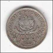 1000 Reis - 1913 A - Estrelas Soltas - mbc (707)#00011#