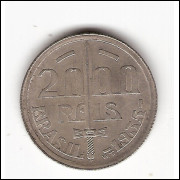 2000 Reis - 1935 - Duque de Caxias sob (720) #0002#