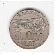 5000 Reis - 1936 - Santos Dumont sob-fc (736)=2