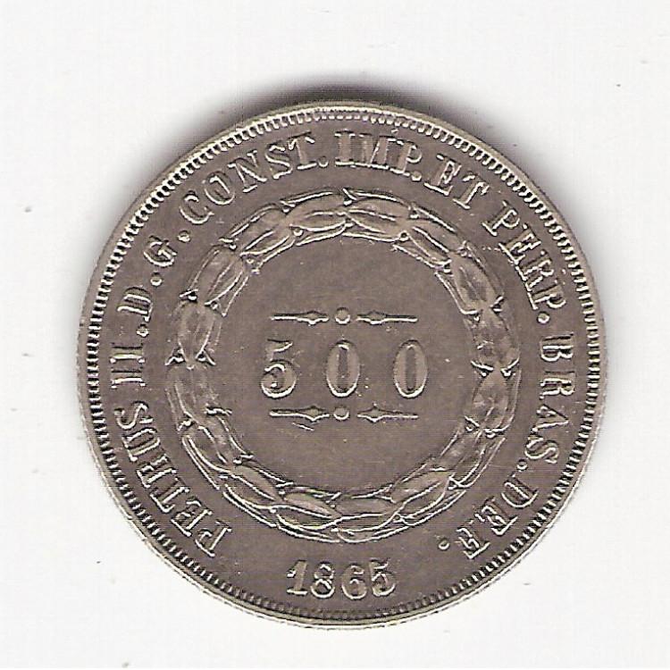 500 reis - 1865 - sob(598)=2