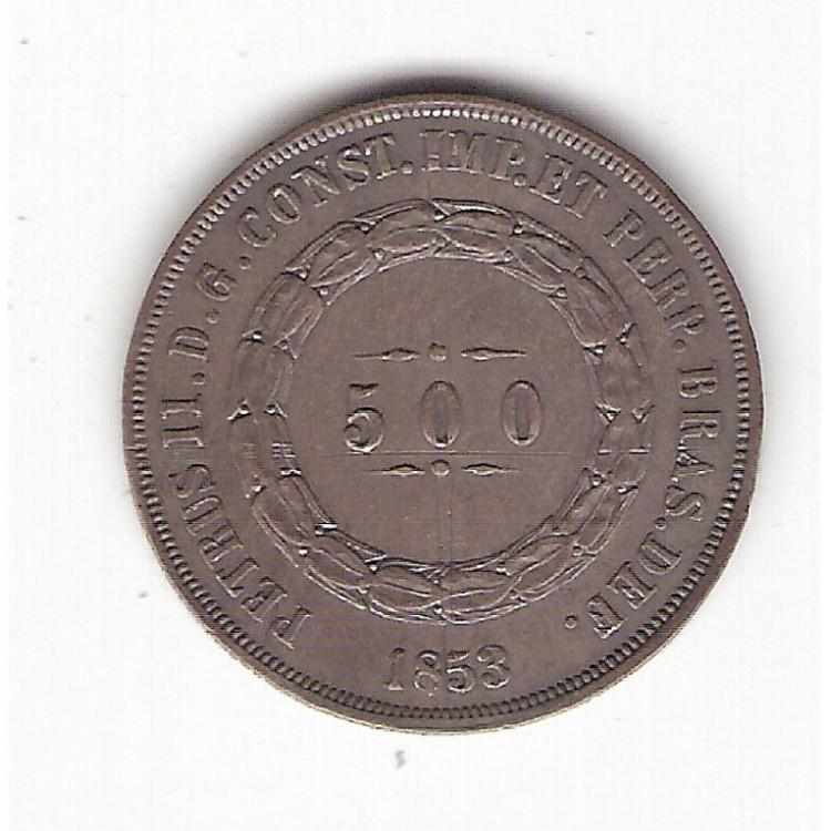 500 reis - 1853 - FC (586)