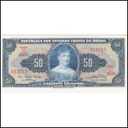 C-028 - CINQUENTA  CRUZEIROS - 1961 - sob (s.1217)