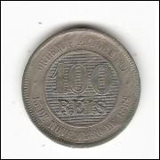 100 reis  1897 -cupro-niquel - sob(-)  (041)