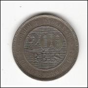 200 reis - 1889 - cupro-niquel sob/fc (045)