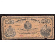 R-008 - 500 Reis - 1874 - bc/mbc