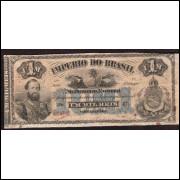 R-014 - 1000 Reis - 1870 - mbc/sob
