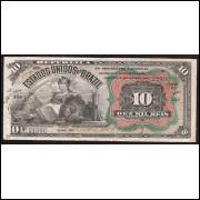 R-104- 10.000 reis - 1907 - sob(-)