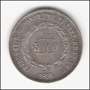 500 Reis - 1856 - sob (589)
