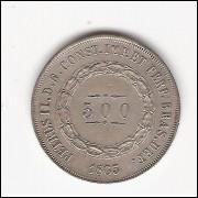 500 Reis - 1863 - sob/fc  (596)