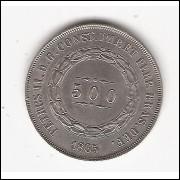 500 Reis - 1865 - FC (598)