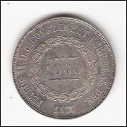 1000 reis - 1857 - FC (P605)