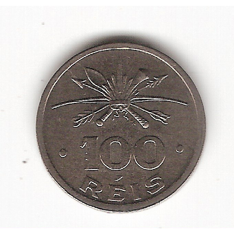 100 Reis - 1932 - Serie Vicentina - FC (135)