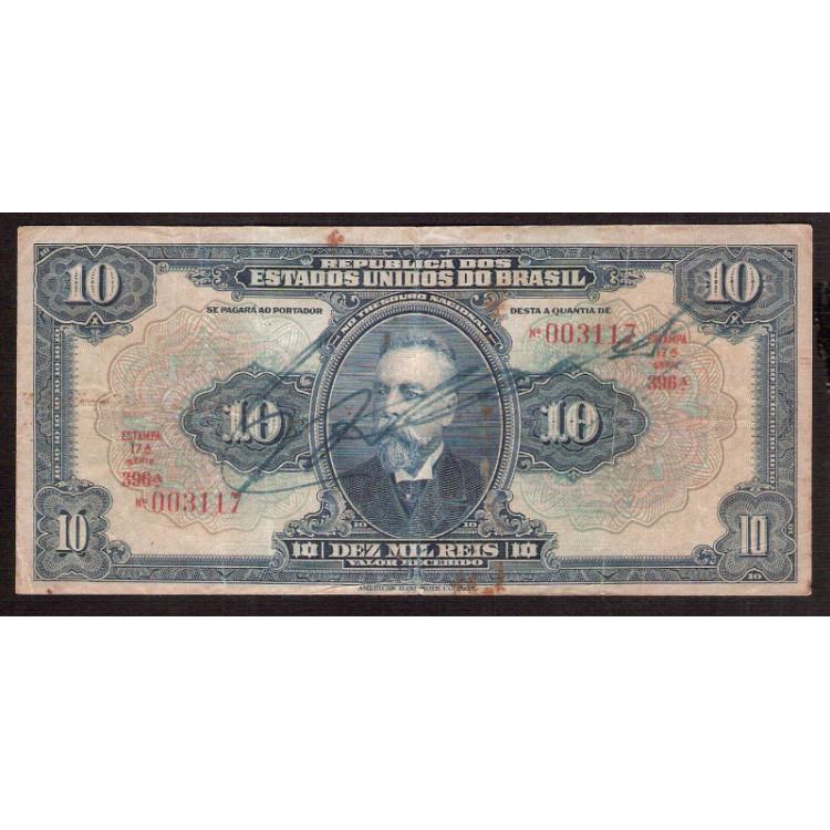 R-110c - 10.000 Reis -1936 - mbc/sob (s.396)