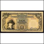 100.000 Reis - Santos Dumont - FE - AMOSTRA