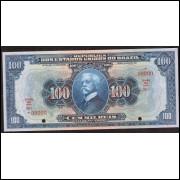 R-141as - 100.000 reis - 1924 - BraZil com Z - Specimem FE