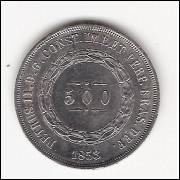 500 reis  1853 - sob (586)=2