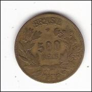 1930 - 500 reis -  Simbolo da Fortuna - mbc  ESCASSA (127)