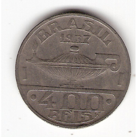 400 reis - 1937 - Oswaldo Cruz - sob (V150)