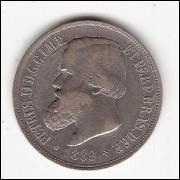 1000 Reis - 1889 - IMPERIO -  (655)  RARA