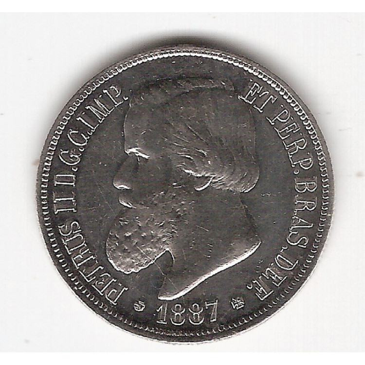 1000 Reis - 1887 - RARA (653)