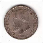 1000 Reis - 1886 - SOB -ESCASSA (652)