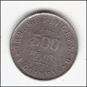 500 Reis - 1912 - Escassa- Apenas 2.000 moedas (685)