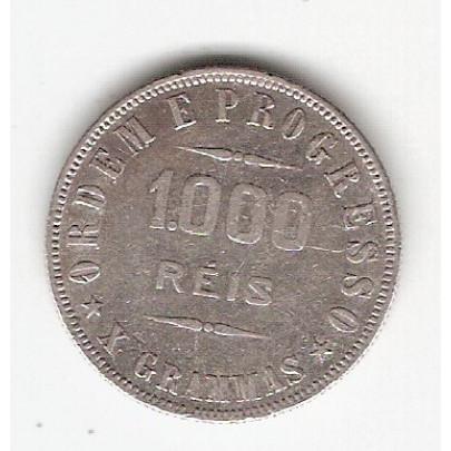 1000 Reis - 1912 - X Grammas - mbc/sob (692)