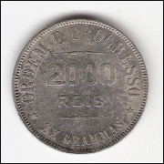 2000 Reis - 1910 - XX grammas - ESCASSA  (698)